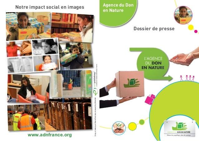 Notre impact social en images                                                                       Agence du Don         ...