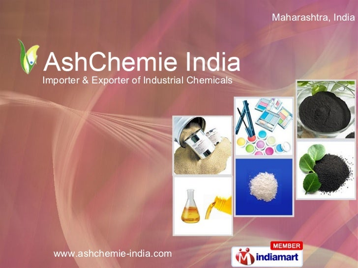 Maharashtra, India  Importer & Exporter of Industrial Chemicals