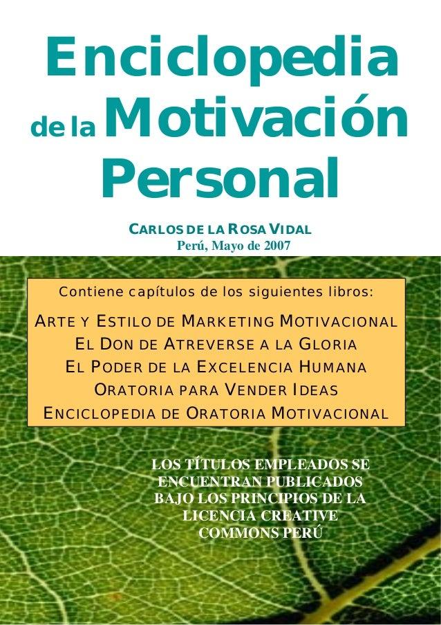 10276386 enciclopedia-de-la-motivacion-personal-carlos-de-la-rosa-vidal Slide 2
