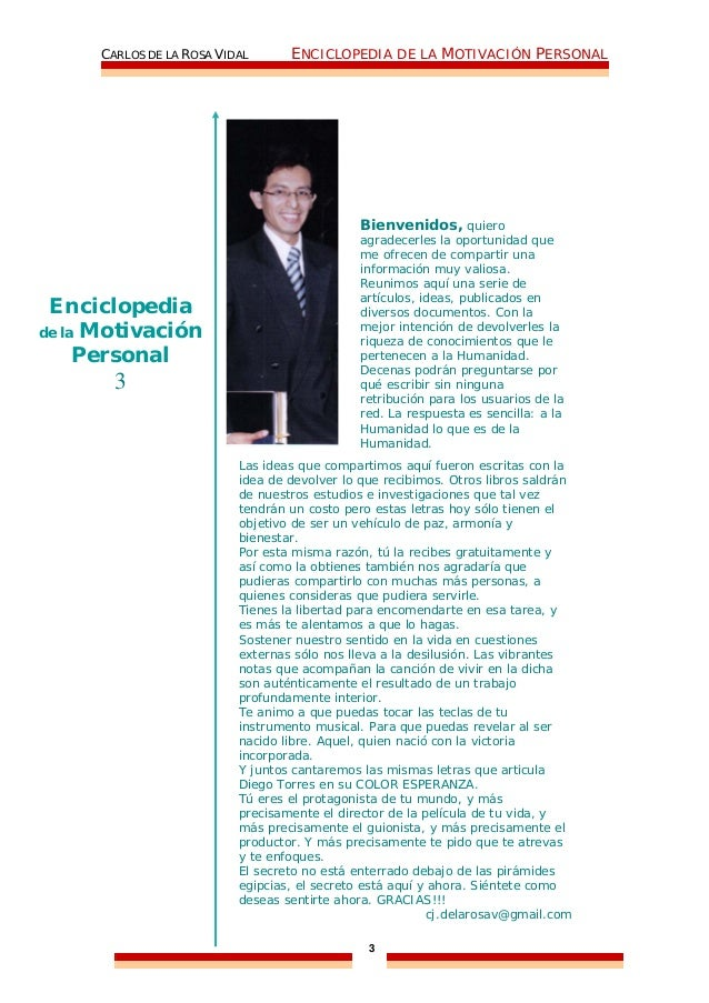 10276386 enciclopedia-de-la-motivacion-personal-carlos-de-la-rosa-vidal Slide 3