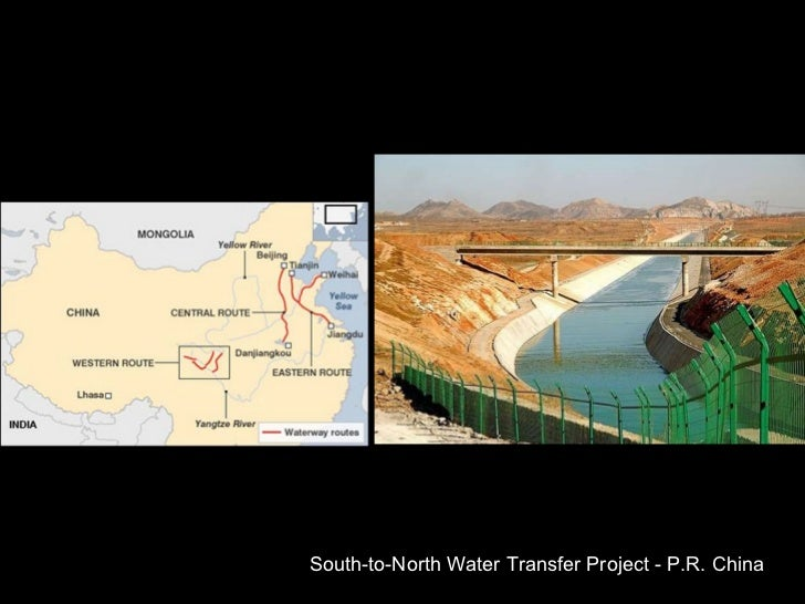South-to-North Water Transfer Project - P.R. China