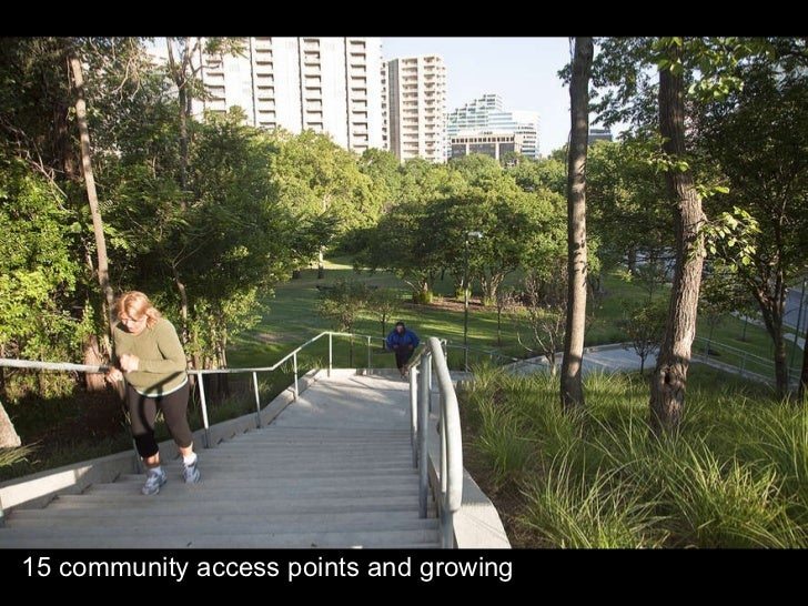 15 community access points and growing