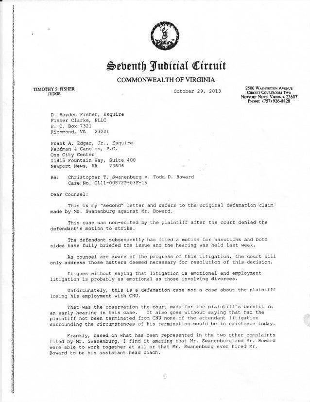 Swanenburg Opinion Letter 10 19 2013