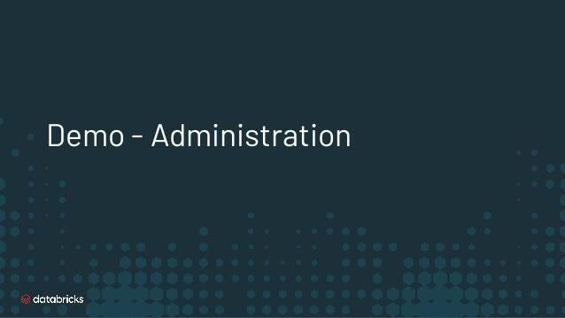 Demo - Administration