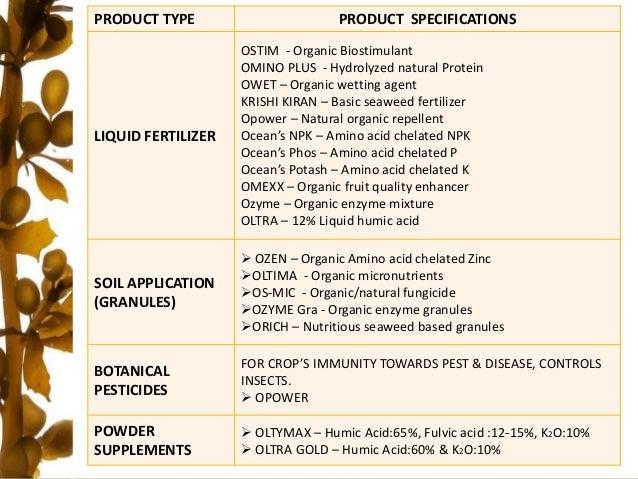 Ocean Biotech - Brochure