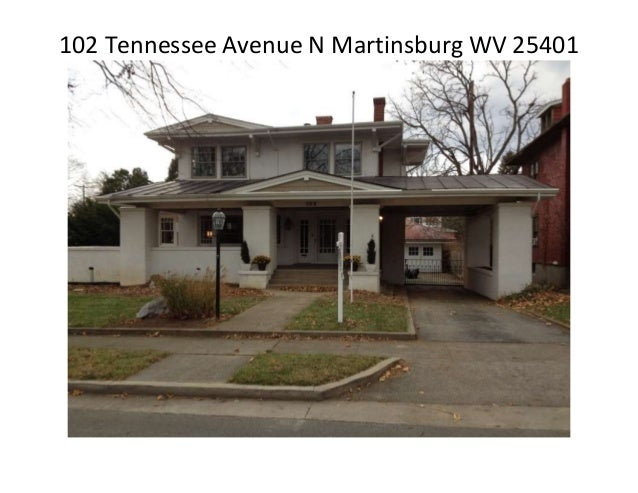 102 Tennessee Avenue N Martinsburg WV 25401