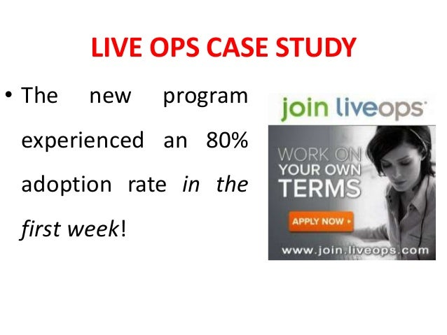 Live Ops Case Study Gamification In Employee Engagement
