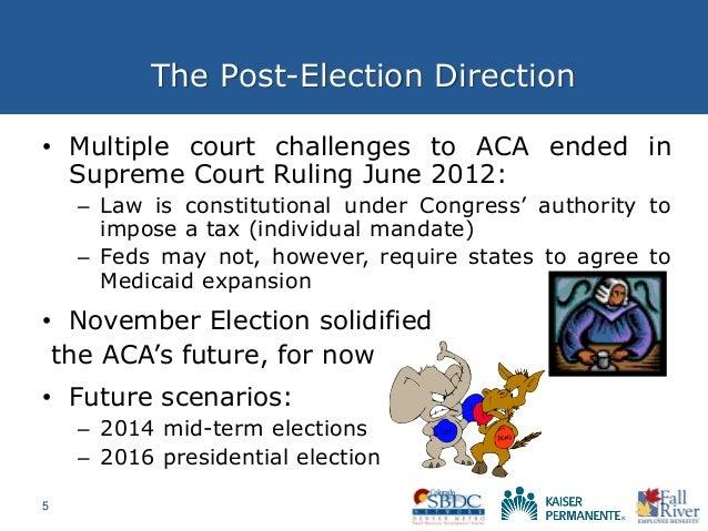 Health Care Reform Preparedness 103: The Post-Election ...