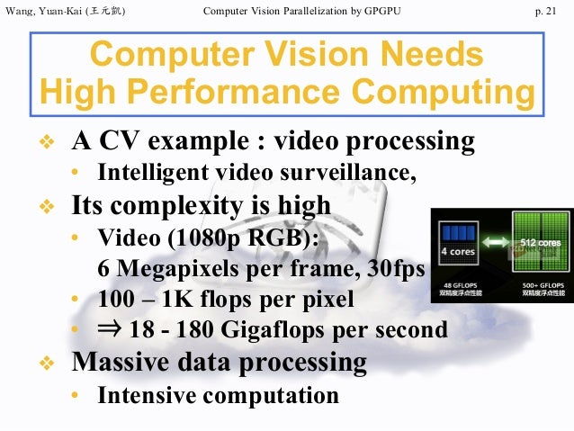 2014/07/17 Parallelize computer vision by GPGPU computing