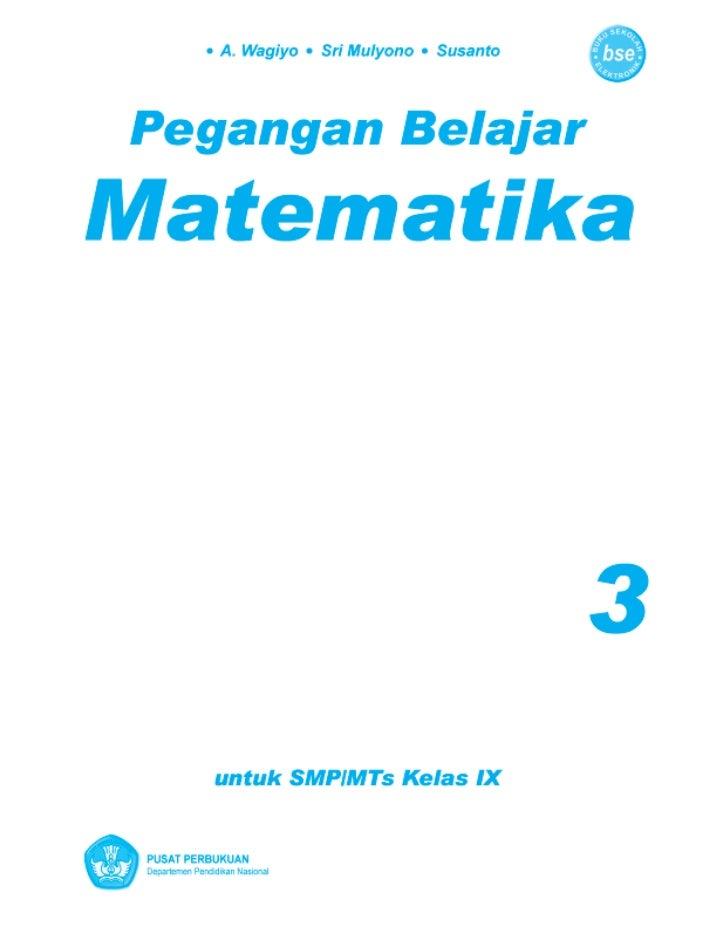 buku matematika smp kelas 8 semester 2 erlangga