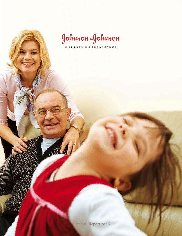 johnson & johnson 2006 Annual Report