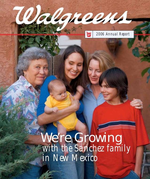 96eec9708 walgreen 2006 Annual Report