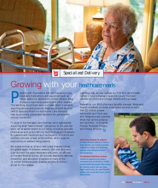 walgreens annual report È annual report pursuant to section  our purpose is to help people across the world lead healthier and happier lives walgreens boots alliance is the largest .