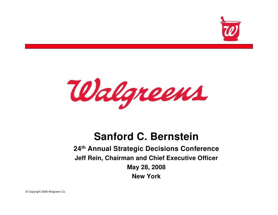 Confidential                                           Sanford C. Bernstein                                 24th Annual St...