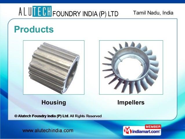 Housing by Alutech Foundry India (P) Ltd , Coimbatore