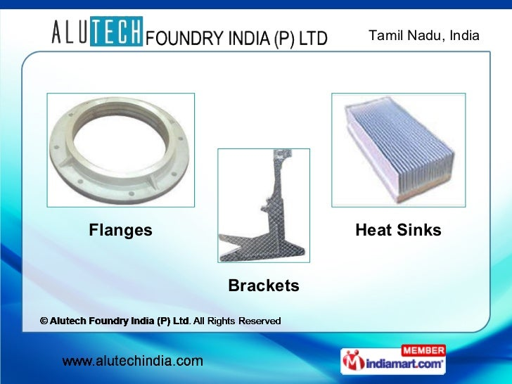 Alutech Foundry India PLtd All Rights Reserved Tamilnadu