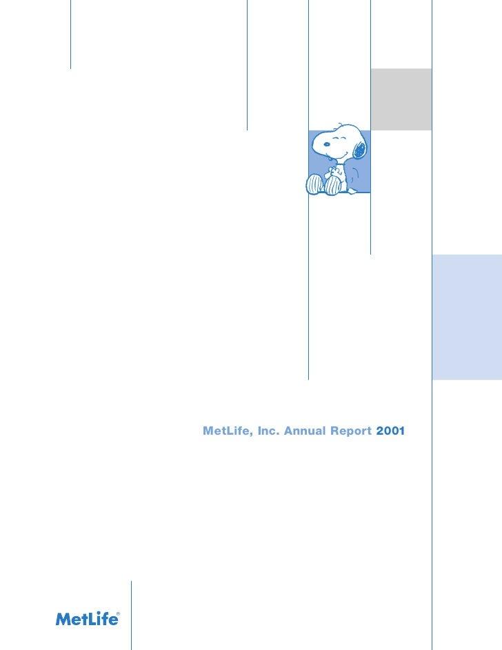 metlife annual report