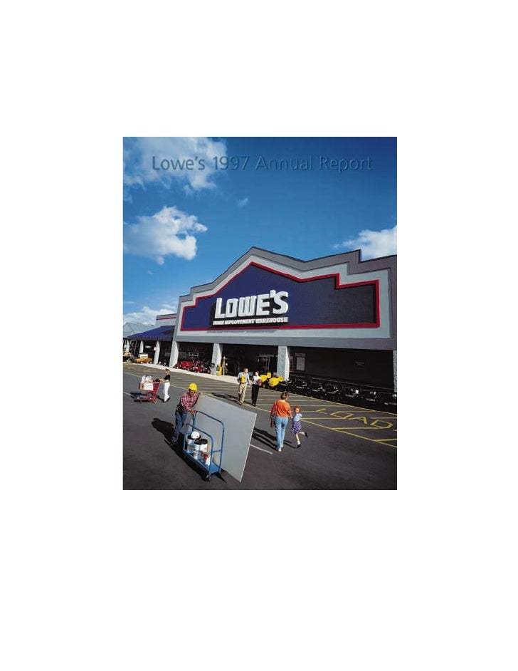 Lowes Annual Report1997