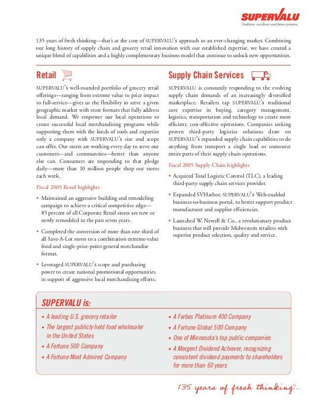 supervalu annual report