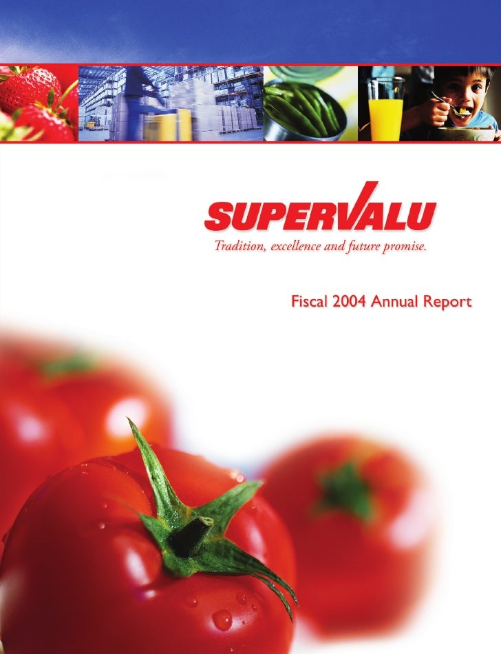 Dear Shareholder:     This year, I am proud that SUPERVALU's business operations delivered a standout year in fiscal 2004 ...