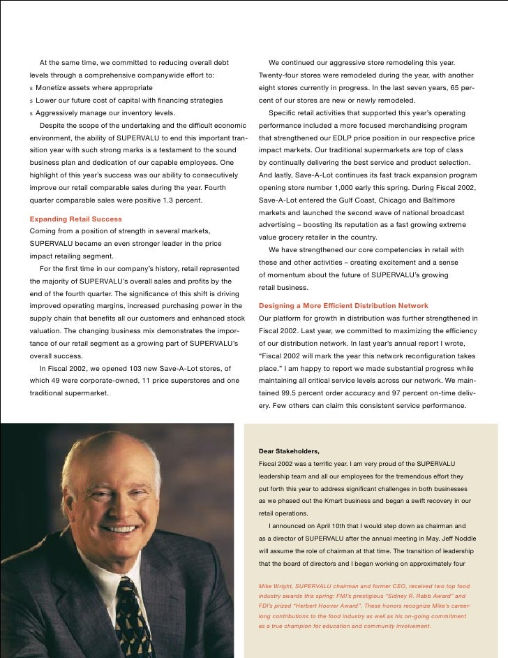 supervalu annual report