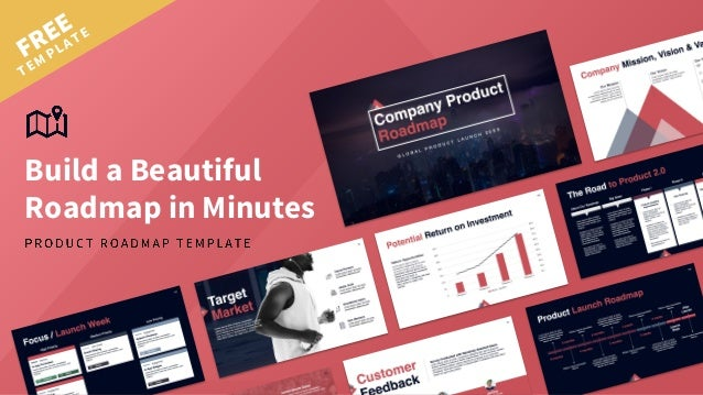 FREE TEMPLATE Build a Beautiful Roadmap in Minutes