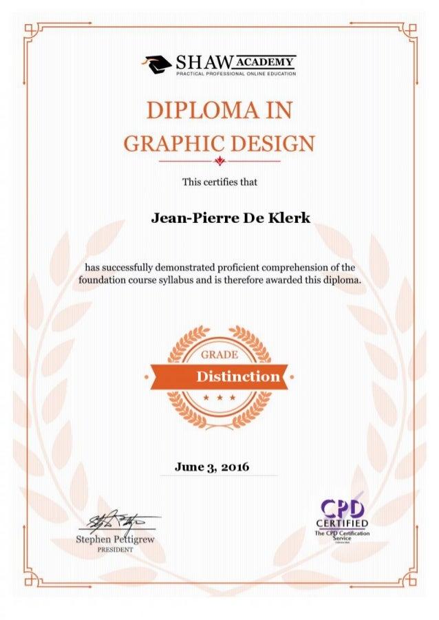Graphic Design Diploma Shaw Academy