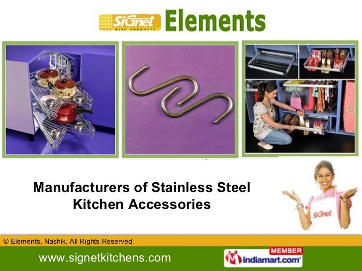 Manufacturers of Stainless Steel Kitchen Accessories