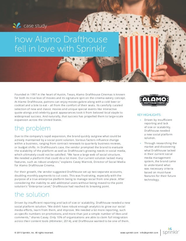 the alamo drafthouse case study answers