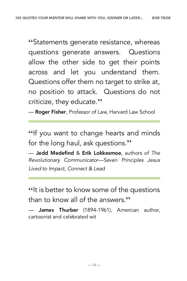 60 Quotes On Questions Fascinating Quotes Questions