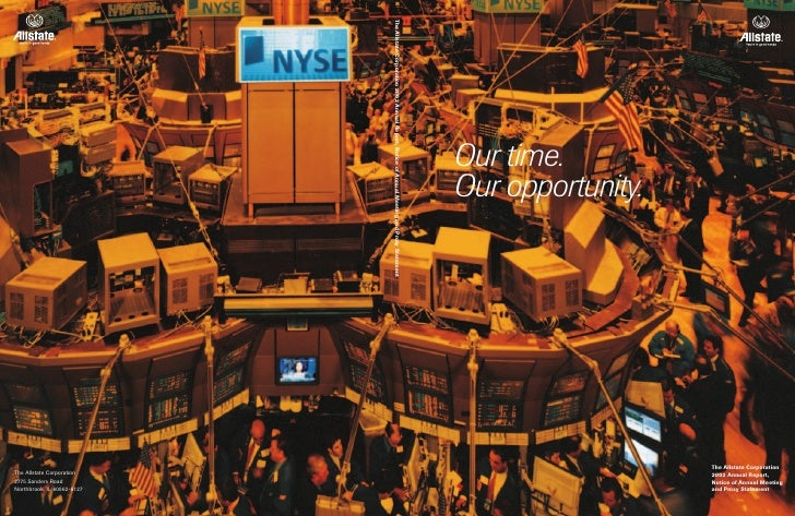The Allstate Corporation 2002 Annual Report, Notice of Annual Meeting and Proxy Statement                                 ...