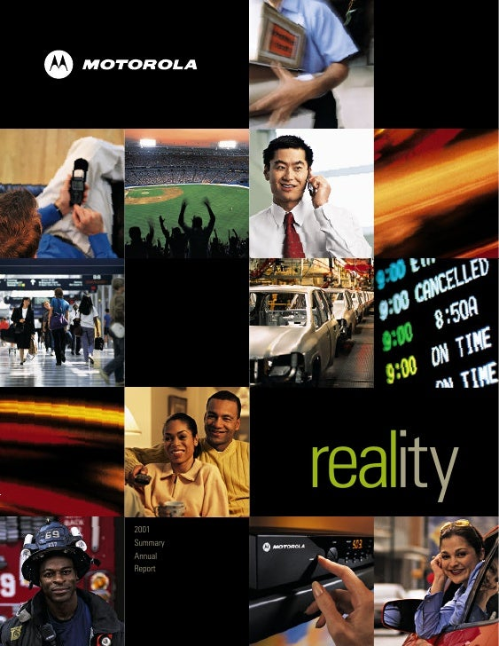 reality 2001 Summary Annual Report