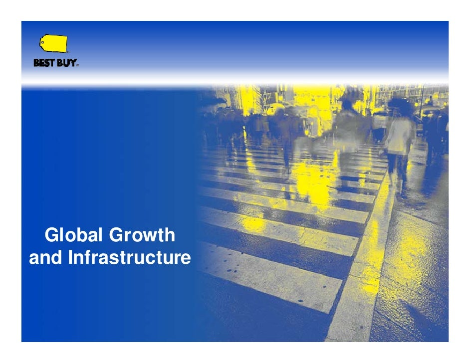 Global Growth and Infrastructure