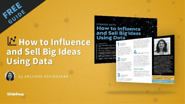 How to Influence and Sell Big Ideas Using Data FREE GUIDE