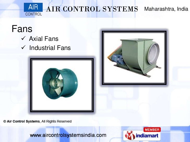Maharashtra, IndiaFans  Axial Fans  Industrial Fans