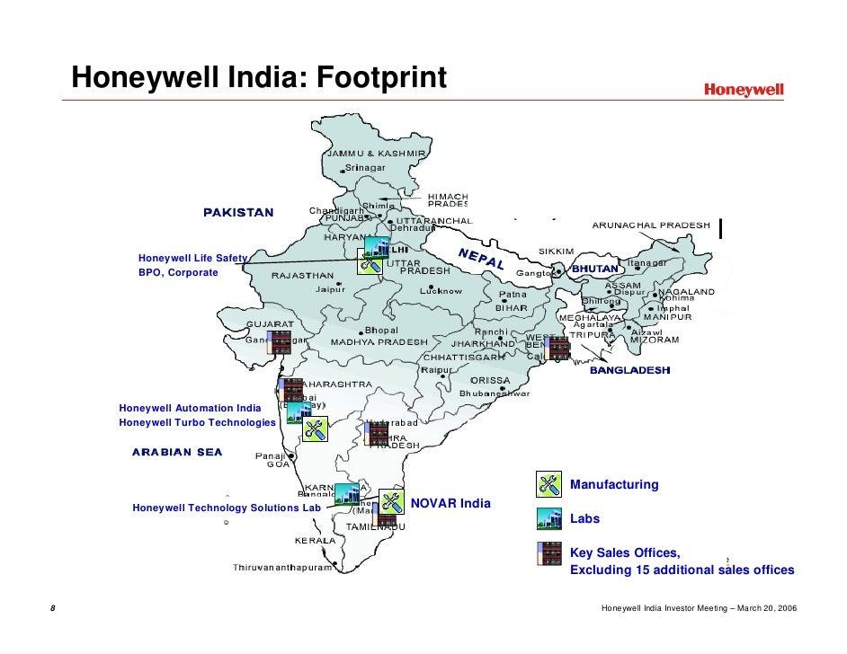 Honeywell Honeywell in India (Merrill Lynch Presentation)