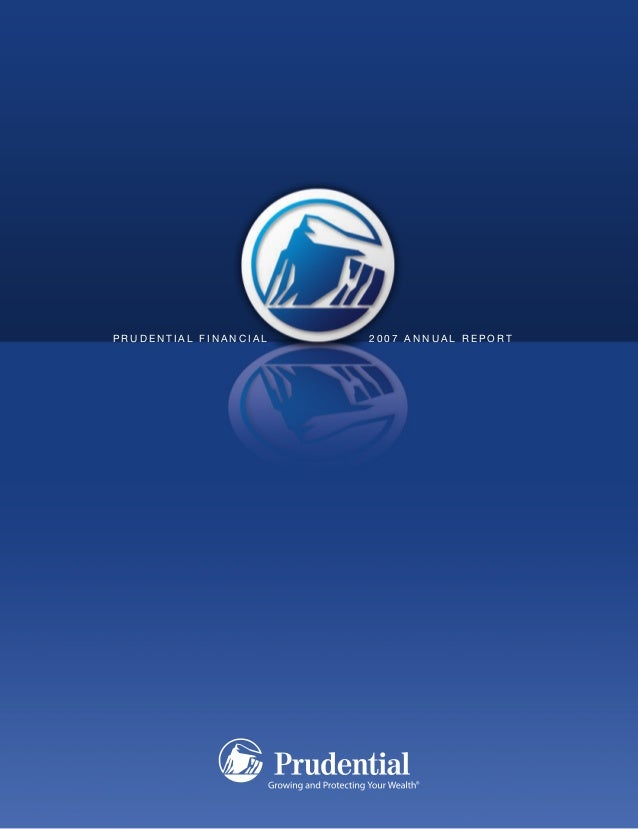 Prudential Financial Annual Reports 2007
