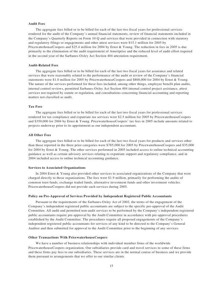 american express Proxy Statements2006