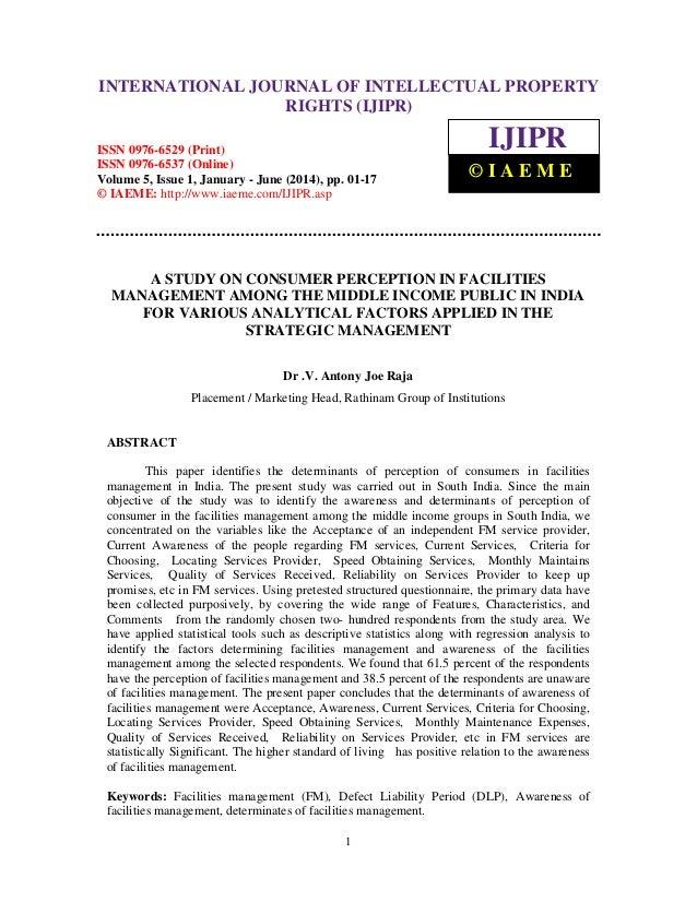 International Journal of JOURNAL OF Rights (IJIPR), ISSN 0976-6529 (Print), INTERNATIONAL Intellectual Property INTELLECTU...