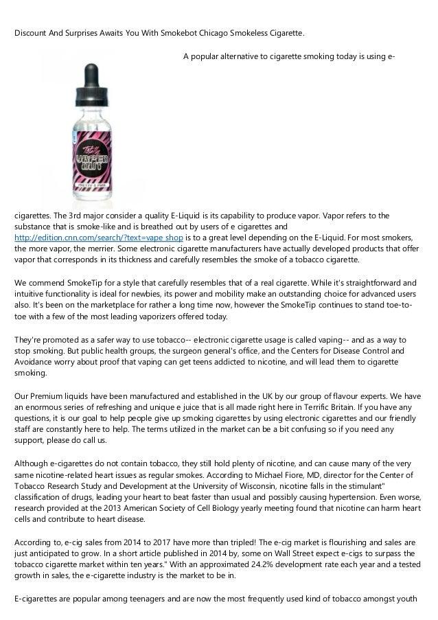E cigarette liquid health risks cherokee pipe tobacco 5lb bag