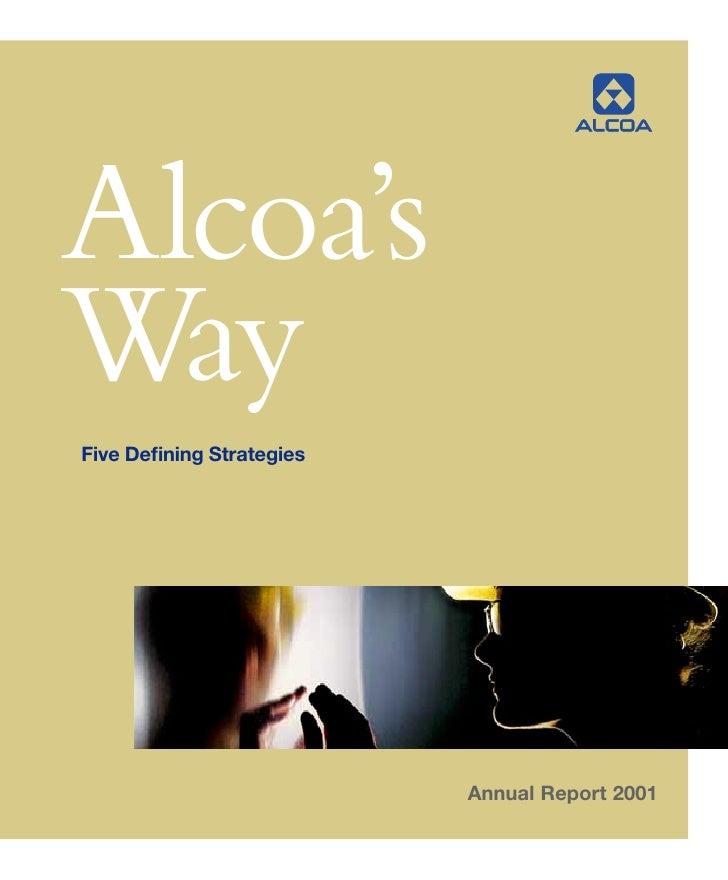 alcoa Annual Reports 2001
