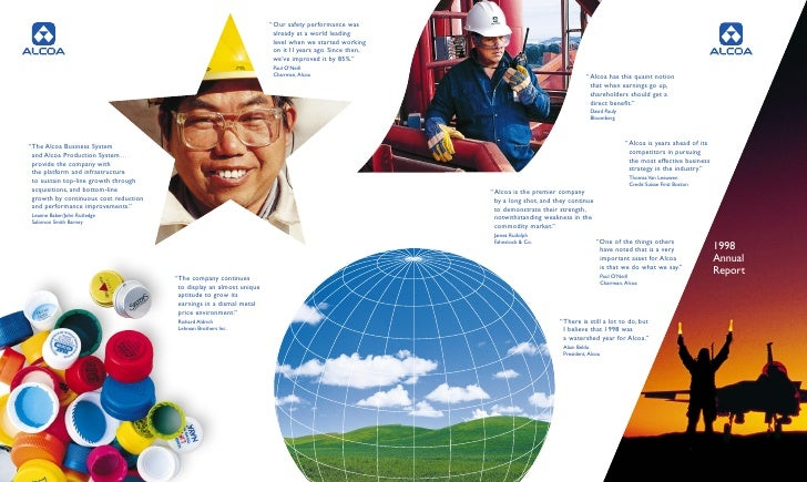 alcoa Annual Reports 1998
