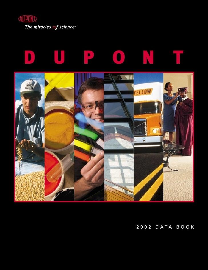 DUPONT         2 0 0 2 D ATA B O O K