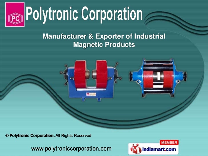 Manufacturer & Exporter of Industrial        Magnetic Products