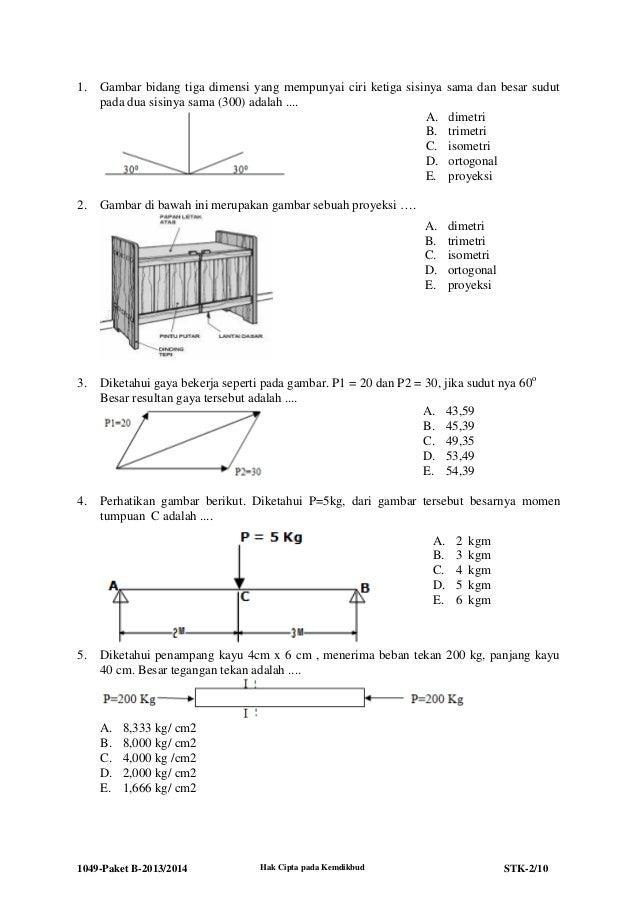 1049 stk-paket b-teknik konstruksi batu dan beton 2013-2014 Slide 2