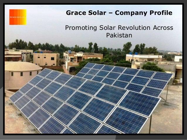 Grace Solar – Company Profile Promoting Solar Revolution Across Pakistan