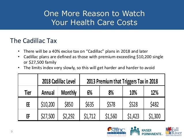 2018 cadillac tax limits. beautiful 2018 health care reform preparedness strategies for making your  more affordable with 2018 cadillac tax limits