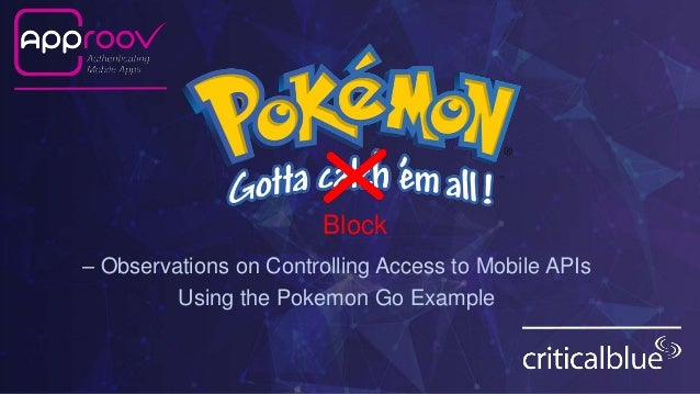 Gotta Block 'Em All – Observations on Controlling Access to