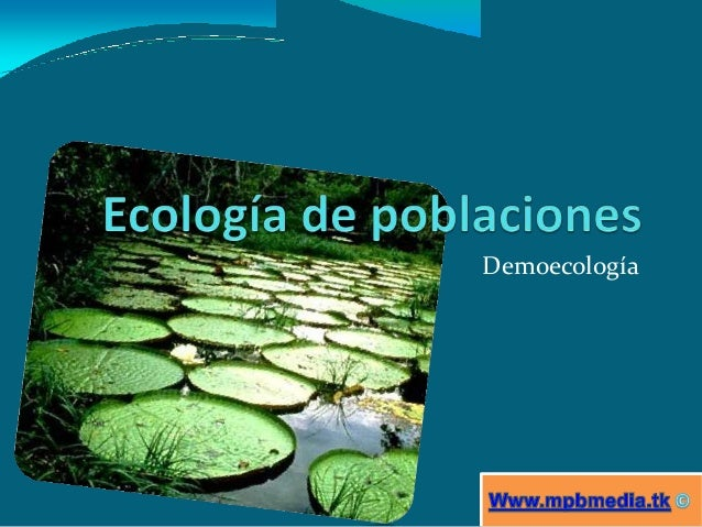 Demoecología