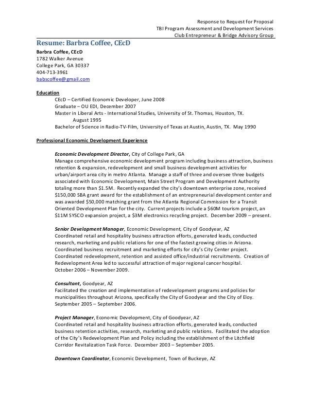Rfp Response Template | Rfp Resumes Tirevi Fontanacountryinn Com